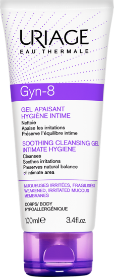 GYN-PHY - gyn-8 gel moussant 100 mL - Uriage