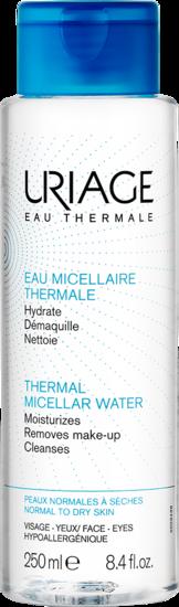 EAU MICELLAIRE THERMALE - Peaux normales à sèches 250 mL Uriage