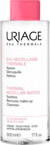 EAU-MICELLAIRE-THERMALE-Peaux-Sensibles -Uriage-500mL