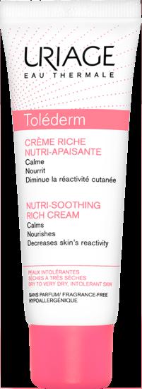 TOLÉDERM - Crème Riche Nutri-Apaisante 50 mL - Uriage