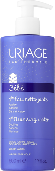 Uriage-BÉBÉ-1ère-Eau-Nettoyante