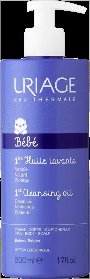 BÉBÉ-1ère-Huile-Lavante-Uriage