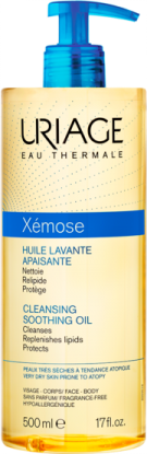 Huile-Lavante-Apaisante-500ml-Xemose-Uriage