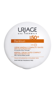 creme-minerale-compacte-teintée-dorée-SPF50-bariesun-uriage