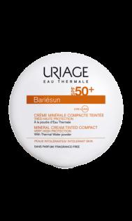 creme-minerale-compacte-teintée-claire-SPF50-bariesun-uriage