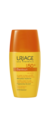 fluide-solaire-pocket-ultra-leger-SPF50-30ml-bariésun-uriage