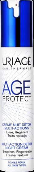 AGE PROTECT - Crème Nuit Détox Multi-Actions Uriage